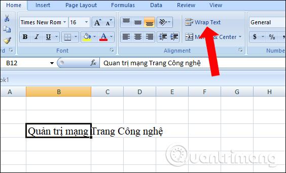 Các cách xuống dòng trong Excel dễ nhất - Ảnh minh hoạ 3