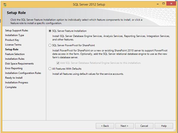 Cài đặt SQL Server