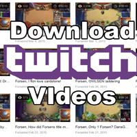 Cách tải video VOD trên Twitch