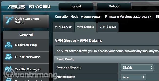 Router có khả năng VPN