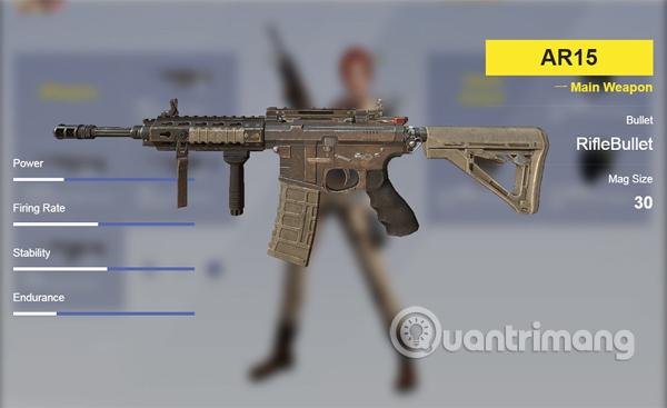 AR15.  súng