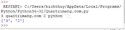 Kết quả bài tập Python 60