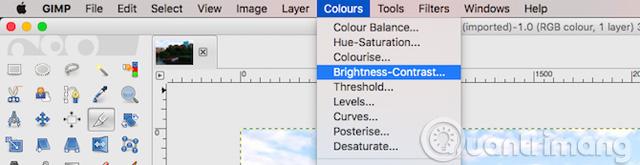Hướng dẫn toàn tập chỉnh sửa ảnh trong GIMP