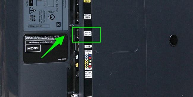 Kết nối tivi và Amply qua cổng HDMI (ARC).