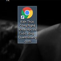 Cách tạo shortcut trang web trên màn hình Windows