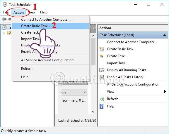 Những tác vụ Windows tự động hóa bằng Task Scheduler