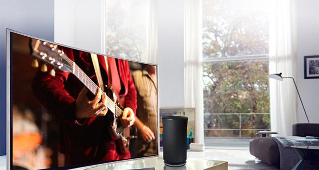 Kết nối loa loa qua tivi qua Bluetooth.