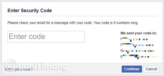 Nhập mã bảo mật