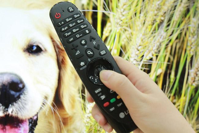 Kết nối tivi với remote thông minh.