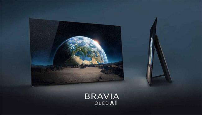 Dòng tivi OLED của Sony sẽ được mô tả bằng mã A1 như trong hình.