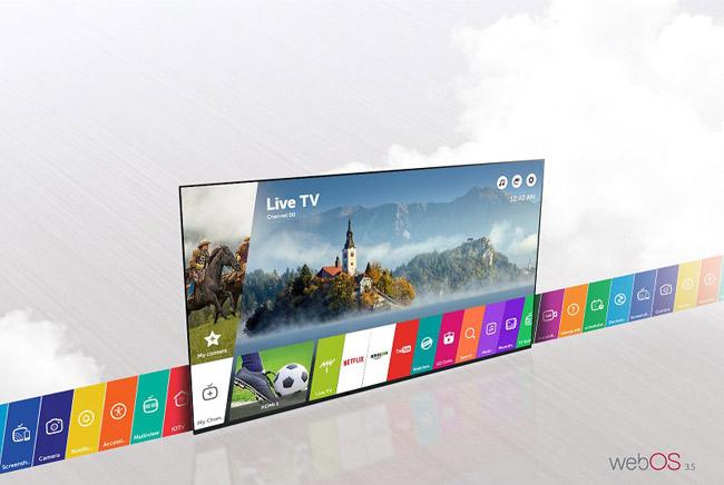 Smart tivi có đầy đủ ứng dụng cơ bản, giao diện đơn giản dễ sử dụng.