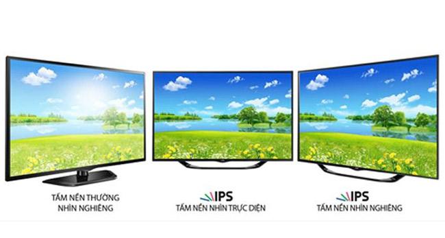 Tivi màn hình IPS, công nghệ lọc ánh sáng xanh bảo vệ mắt.