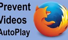 Cách ngăn video tự động chạy trên Firefox