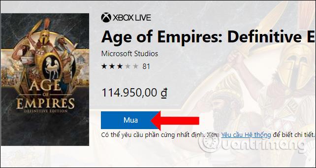 Mua game Đế Chế 4K