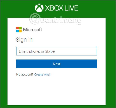 Tài khoản Xbox Live