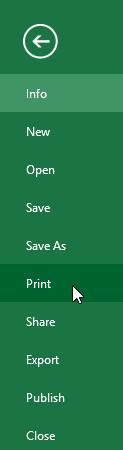 Chọn Print (In). Cửa sổ Print sẽ xuất hiện.