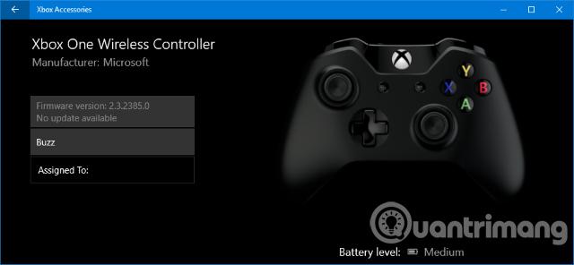 Cách thiết lập tay cầm chơi game Xbox One trên Windows 10