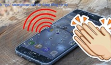 """Cách """"gọi"""" smartphone thất lạc bằng tiếng vỗ tay"""