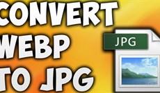 Cách chuyển ảnh WebP thành PNG, JPG trên Chrome, Cốc Cốc