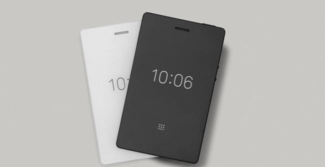 Light Phone 2 có 2 màu đen và trắng
