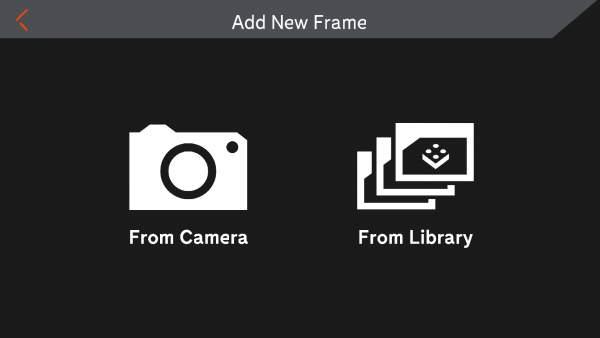 Add New Frame