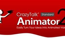 Mời tải ứng dụng làm hoạt hình 2D CrazyTalk Animator 2 Standard có giá 49,95USD, đang miễn phí