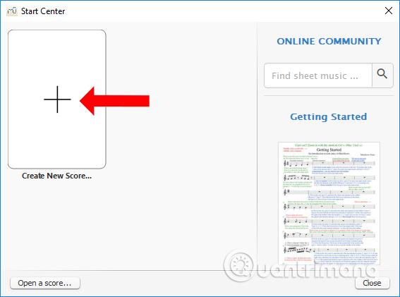Cách dùng MuseScore tạo bản nhạc mới - Quantrimang com