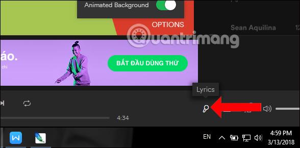 Cách bật lời bài hát trên Spotify - Quantrimang com