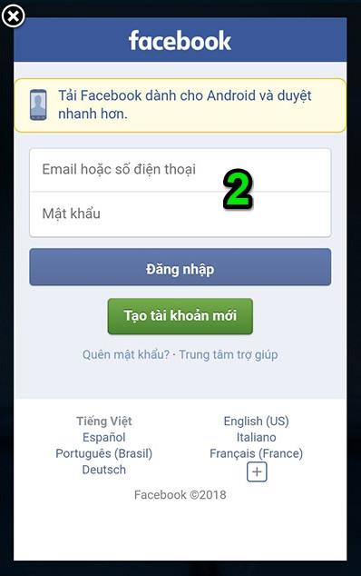 Ứng dụng sẽ tự động quét bạn bè trên Facebook