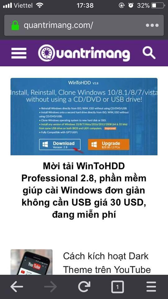 Sử dụng web ẩn danh an toàn