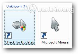 Biểu tượng Check for Updates