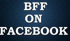 Cách đổi chữ BFF màu đen qua màu xanh để tạo hiệu ứng đặc biệt trên Facebook