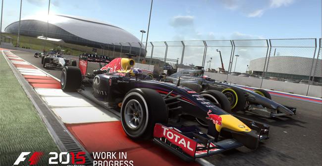 Game đua xe F1 2015