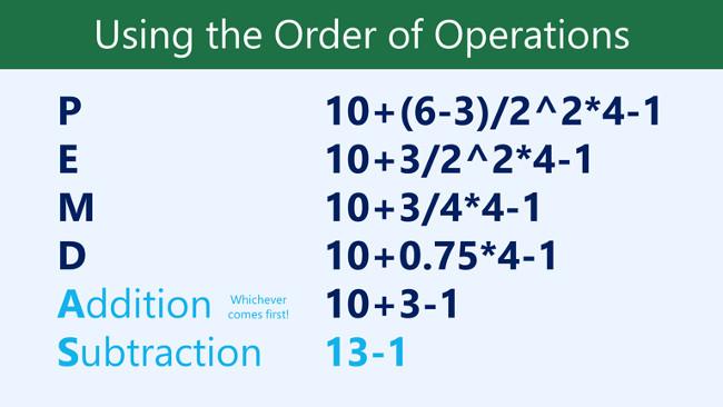 Cuối cùng, chúng ta thực hiện phép trừ phép còn lại: 13-1=12.