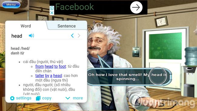 Bạn có thể dịch tiếng Anh ngay khi chơi game
