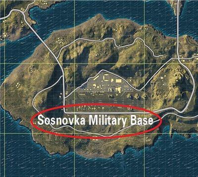 Sosnovka Military Base loot đồ