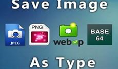 Cách chọn định dạng ảnh khi download trên Chrome