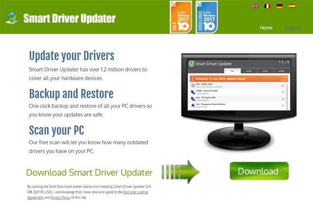 Phần mềm Smart Driver Updater