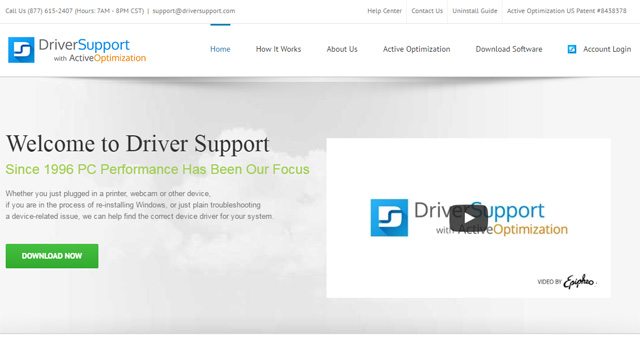 Phần mềm Driver Support