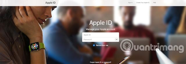 """Lỗi """"Unsupported Apple ID"""" khi đăng nhập vào iCloud"""