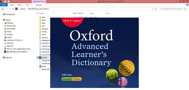 Oxford Advanced Learners Dictionary - Tự học tiếng anh hiệu quả