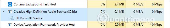 Dịch vụ thay thế Windows Audio Device Graph