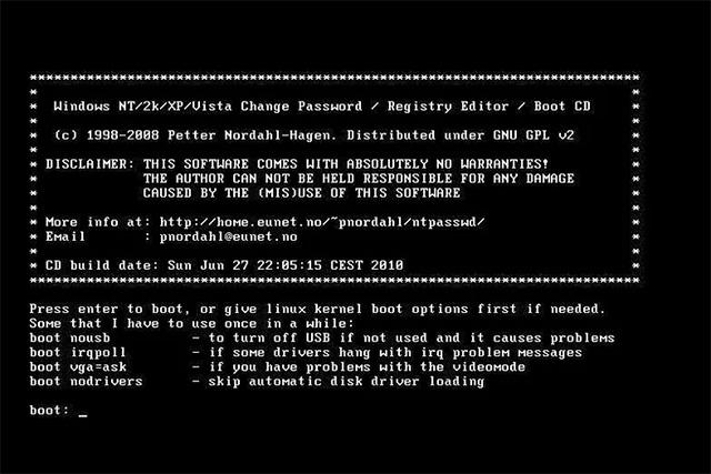 8 công cụ khôi phục mật khẩu Windows miễn phí - Ảnh minh hoạ 5