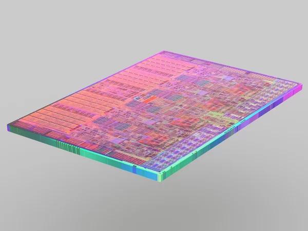 Một die của bộ xử lú Intel Core i7