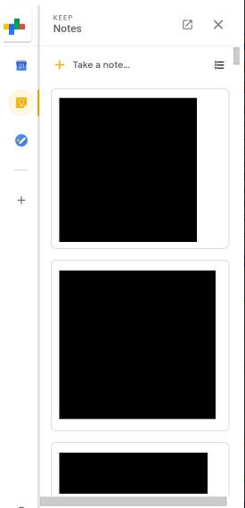 Plugin Keep mới của Gmail