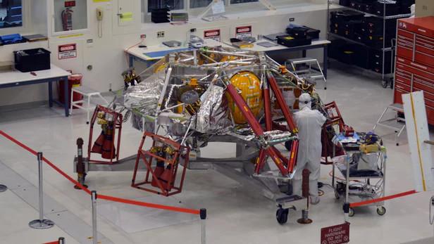 NASA bắt đầu lắp ráp tàu vũ trụ Mars 2020