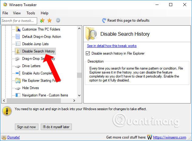 Lịch sử tìm kiếm