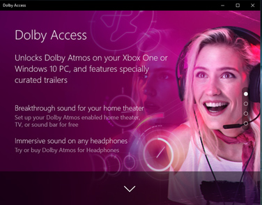 Ứng dụng Dolby Access