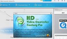 Mời nhận bản quyền miễn phí HD Video Converter Factory Pro, phần mềm chuyển đổi video giá 49,95 USD