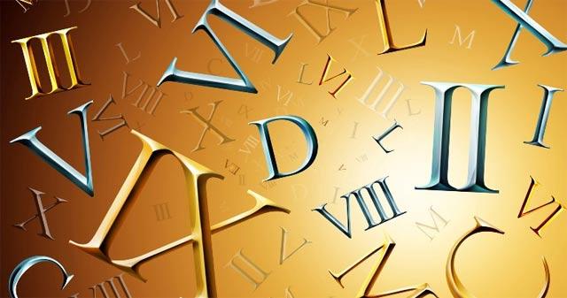 Các chữ số và cách viết số La Mã
